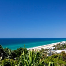 Stunning coastal views by day and night, 22 McAnally Drive Sunshine Beach
