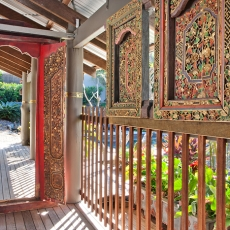 Balinese entry, 22 McAnally Drive Sunshine Beach