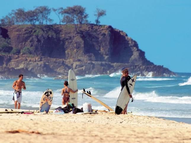 Surfers Sunshine Beach Noosa